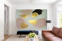 Stained Soil Large Wall Art Abstract Acrylic Painting Oversi...