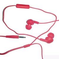Gumy Ha FR6 거미 헤드폰 이어폰 3.5mm 미니 이어폰 HA-FR6 플러스 마이크가있는 스마트 안드로이드 전화 소매 패키지 MQ50