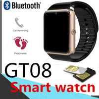 GT08 Smart-Uhren BT DZ09 U8 Bluetooth Smartwatch Kamera Intelligent Handy für Samsung Android SIM-Karte Pedometer Fitness Tracker V8