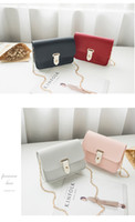 Frauen Einzelner Schulterkette Messenger Bag Japan und koreanische Mode Freizeit Messenger Handytasche
