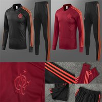 2019 Flamengo Soccer Sweatershirt Long Pants CRF Red Footbal...