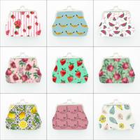 2019 새로운 어린이 과일 동전 지갑 가방 여름 딸기 레몬 바나나 지갑 귀여운 개성 지갑
