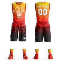 2019 Men' s youth Custom Basketball jerseys sets DIY Tea...