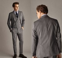 A Self- Styled Plaid Suit Jacket Custom Made Men Suit Groom T...
