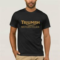 Funny Mens Cotton T- Shirt Classic Triumph Tee For Motorcycle...