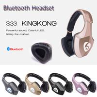 Light Up OVLENG auriculares inalámbricos estéreo ET cómodo Auricular TF tarjeta Bluetooth Headset extranjero Noice micrófono con cancelación para Smartphone