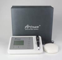 Artmex V9 PMUMTS الدائم ماكياج آلة الوشم 11 سرعات القلم الرقمي Artmex V9 المهنية الحاجب جعل upLip الروتاري آلة الوشم