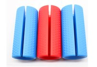 Hot Big Size Blue Color Thick Bar Grips Turns Barbell, Dumbb...
