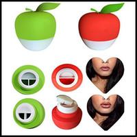 EPACK Apple-Lip Plumper Gelappt Voll Pralle Enhancer Saug Red Beauty Lip Plumper Enhancer, ergonomisches Design Sexy Voll Lip Plumper