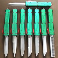 """utensile di taglio tattico coltello automatico maniglia CNC qualità del hight VG10 lama 60-62HR Benchmade BM3300 UTX85 UT121 trumpt """"T6 3 campeggio"""