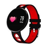 Pressão CF006H Pulseira inteligente Sangue Heart Rate Monitor relógio inteligente Passometer impermeável de Fitness Rastreador de pulso para o iPhone iOS Android