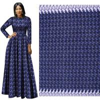 nuovo modello di moda tessuto nazionale africano tessuto batik poliestere stampato panno per abito vestito vendita diretta della fabbrica