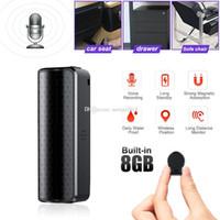 Mini pluma de la grabación Q70 súper larga espera 8GB 16GB 32GB grabadora de voz digital de almacenamiento automático de reducción de ruido grabar archivos Profesional Mini HD