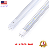 Tubo LED T8 4FT 4 pés Super Bright LED 18W 22W 28W Bulbo 100LM / W Tampa de substituir a luminária fluorescente AC85-265V