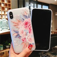 Retro Flower Phone Case For iPhone XS XR XS Max X 8 7 6 6S P...