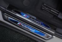 Yüksek Kaliteli Paslanmaz Çelik 8 Araba Kapı Eşikleri Dekorasyon Trim, Koruma İprak Plaka, BMW X1 F48 Için 2 Arka Trunk Koruma Plakası 2016-2021