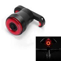 Smart Bike Hecklicht USB wiederaufladbare LED wasserdichte Bremsabtastung Fahrrad Rückleuchten Easy Mount passt auf jede Rennradfahrer