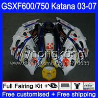 鈴木GSXF 600 FOR 2007年293HM.31 GSXF-750 Katana GSXF750 03 04 05 05 06 06 06 07
