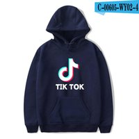 BTS Tik tok software 2019 New Print Hooded Women / Men Popular Clothes Harajuku Casual Hot Sale Felpe con cappuccio 4XL