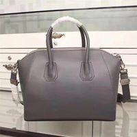 Wholesale handbags for sale - Top quality famous purse Motorcycle handbags  grauned leather antigona casual tote 23209e9db814c