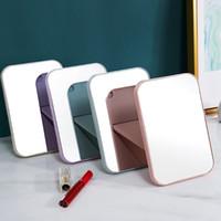 20 pcs maquillage portable miroir de voyage cuir de bureau de bureau forte table pliable miroirs compacts miroirs cosmétiques miroir miroir miroir