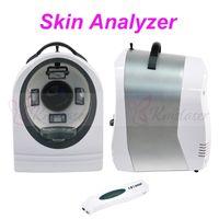 살롱 스파를위한 자동적 인 얼굴 해석기 마술 거울 피부 해석기 피부 진단 기계 피부 분석 기계