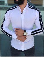 Printemps 2020 Robe Hommes Chemises Eté Automne Hombres Designer shirt
