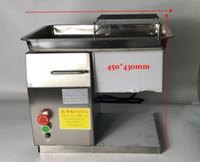 Freier shipping ~ Insgesamt 2 Einheiten QX Modell Schreibtisch-Art Fleischschneider 250 KG / HR Cuting Hähnchenbrust für Restaurant