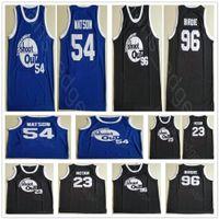 Kyle Watson Duane 54 Motaw Wood Birdmänner 23 Birdie Tupac 96 Turnier Shooting Basketball über dem Rand Kostüm Film genäht Trikots