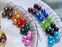 Fashion Douple Pearls Sterling Silver Wome Dangle Earrings S925 Freshwater Pearls Drop Earrings for Women Wedding Cute Earrings