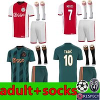2019 2020 Ajax FC Soccer Jerseys home adult kit 19 20 Custom...