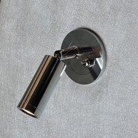 Topoch İç Lamba Gömme Duvar Işıkları Yönlü Başkanı Kapalı Anahtarı ile Yönlü Kafa Otel Konut Motorhome Yacht 180 Deg. Eğilmek