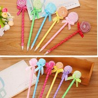 2019 Hot selling New strange Bow Lollipop Ballpoint Ball pen...