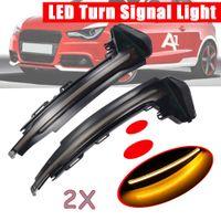 Side Wing Измельчитель Turn Signal Light Repeater мигалка для Audi A1 8X 2012 2013 2011 2014 2015 2016 2017 2018
