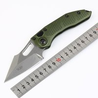 Promotion Stitch- A Auto Tactical Folding Knife D2 Stone Wash...