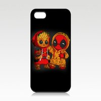 Groot and Deadpool Phone Case For Iphone 5s 6s 6plus 6splus ...