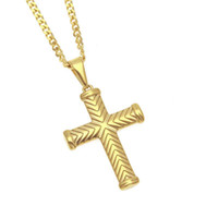 Newest Tide brand Unisex necklace pattern cross Pendant jewe...