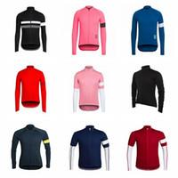 Rapha homens equipe ciclismo mangas compridas jersey primavera outono respirável jersey bicicleta desgaste camisa h040936