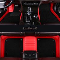 3D Özel Fit Özel Su Geçirmez Araba Paspaslar Land Rover Freelander 2 Keşif 3 4 5 Range Rover Spor Evoque Araba Styling Liner