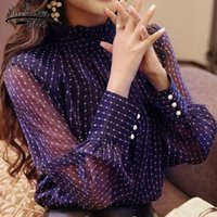 New Arrival 2018 Spring Blouse Women Long Sleeves Shirt Fema...