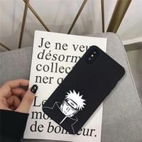 Саске Наруто мягкий силиконовый чехол для Монтажн iphonePhone 7 11 XS MAX XR X 8 6 6s Plus Мультфильм Аниме Soft Matte телефон Обложка Коке