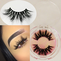 25mm lashes 3D long mink hair eyelashes 3D mink hair eyelash...