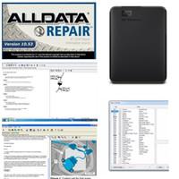 2020 핫 자동 복구 ALLDATA 소프트웨어 모든 10.53에서 750GB HDD USB3.0 고품질 하드 디스크 드라이브 AllData 진단 도구 무료 배송