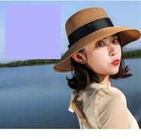 Bowknot麦わら帽子の折りたたみ式ビーチ帽子のための帽子の帽子のための帽子のための帽子のための帽子の帽子のための折り返しのための帽子の帽子