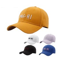 Summer 2019 Brand New Cotton Mens Hat Youth Letter Print Uni...