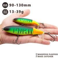 Gancho almizcle Topwater señuelo de pesca para lucio bajo y perca cebo de pesca Soft Tail 9cm13cm Artificial Hunthouse