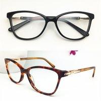 موضة جديدة أعلى جودة النساء تصميم بصري إطارات رجال خمر خلات نظارات جولة النظارات بلانك النظارات الإطار الجملة Eyewear1059