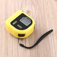 Misuratore di distanza elettronico portatile tenuto in mano del telemetro del cercatore del range ultrasonico 18M