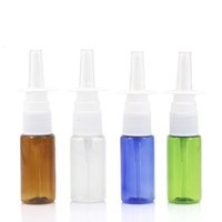 15ml colorful PET Empty bottle Plastic Nasal Spray Bottles P...