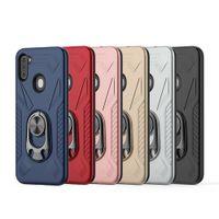 Per Samsung A21 A11 per Motorola MOTO E 2020 Moto E7 Moto G Stylus apribottiglie Kickstand Hybird della cassa del telefono Shookproof copertura D1